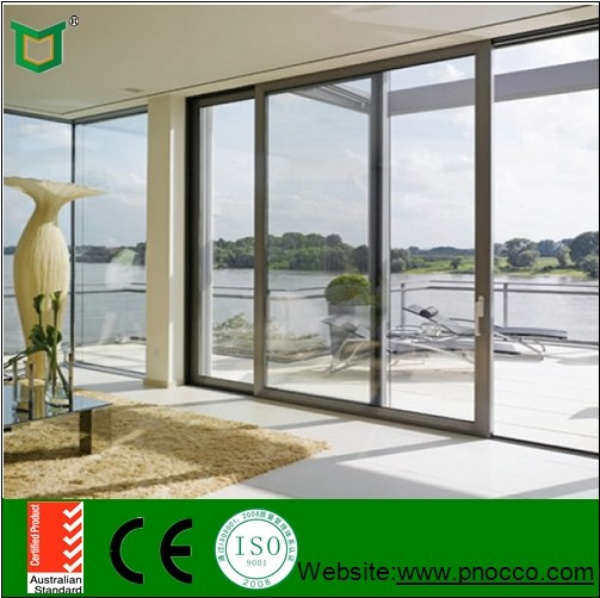 China Beautiful Aluminum Sliding Windows And Doors Sound Proof
