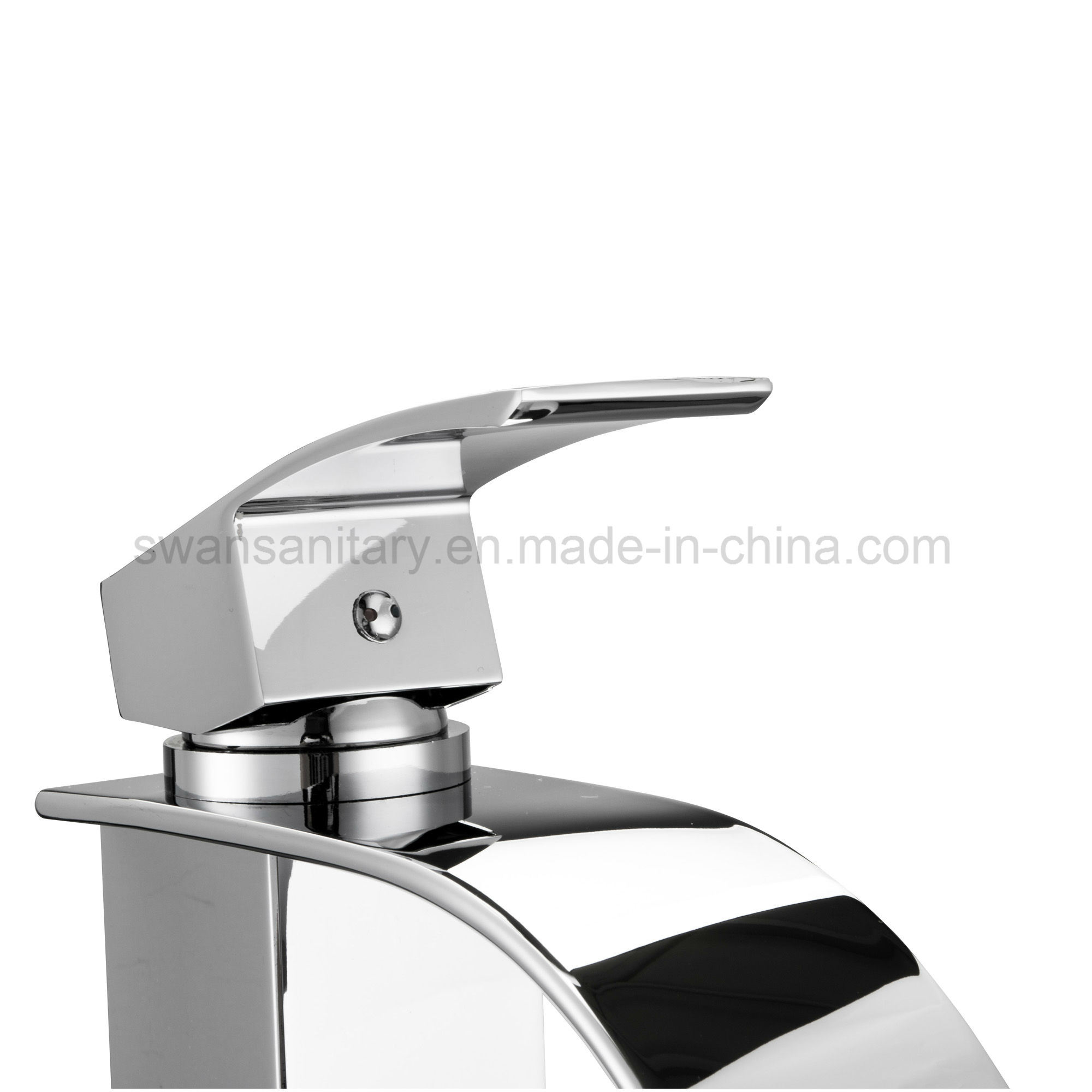 Kaen Wide Spout Waterfall Basin Faucet