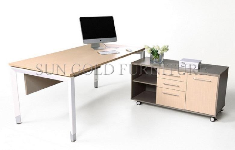[Hot Item] Modern L Shape Simple Director Office Table Design (SZ-ODT650)