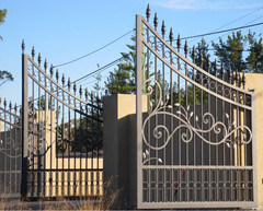 Wrought Iron Gate Designs For Homes Made In China Hot Sales Door