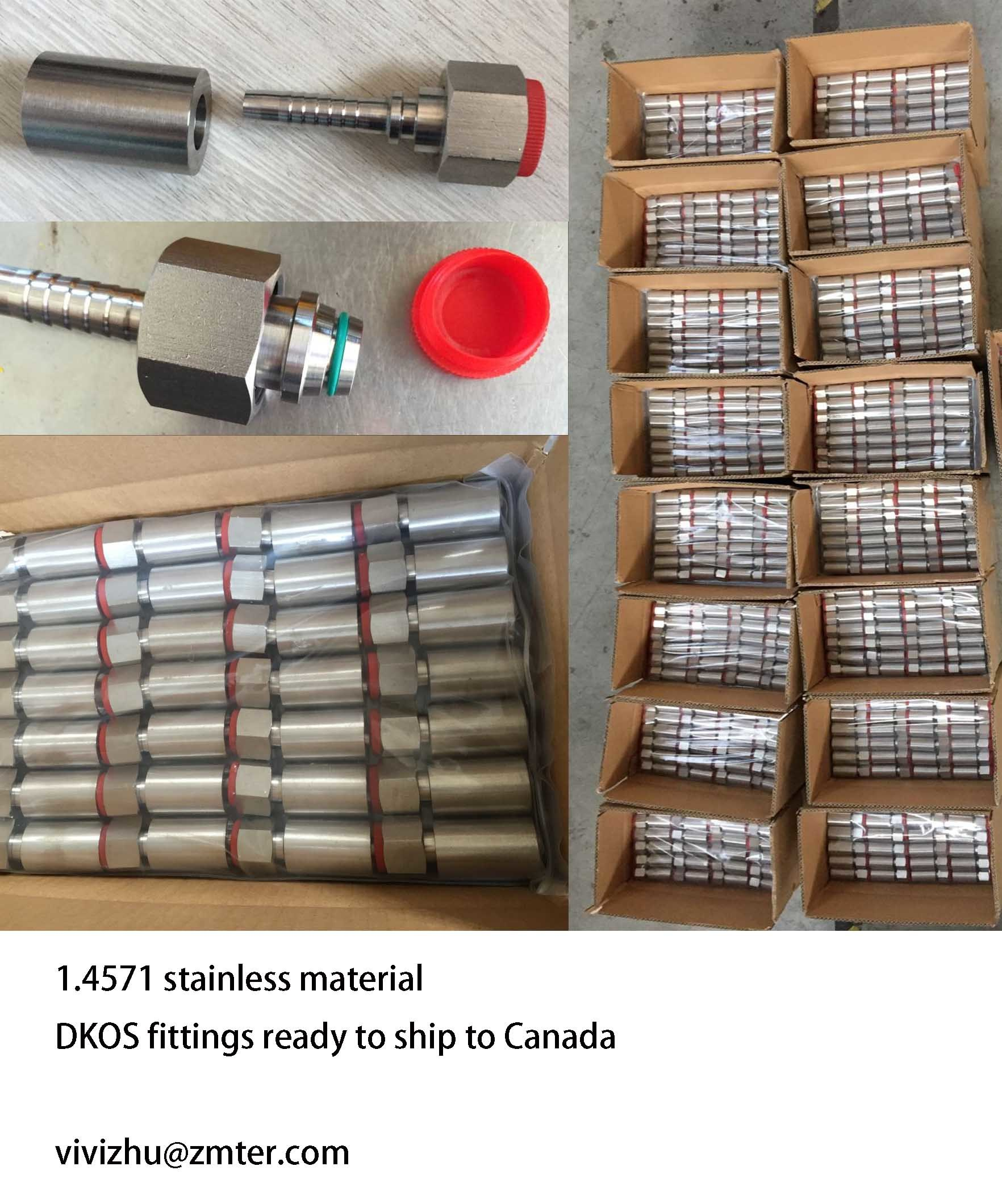 Bsp, NPT, Jic, Ofrs, Metric Hydraulic Fittings pictures & photos