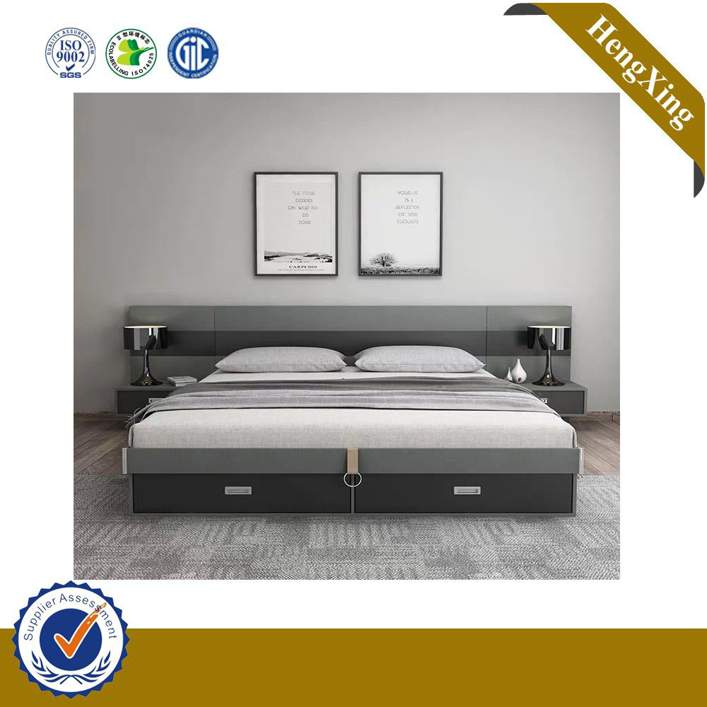 China Home Decor Wholesale Cheap Modern Wooden Double Bed Bedroom Furniture Sets China Modern Furniture Bedroom Furniture