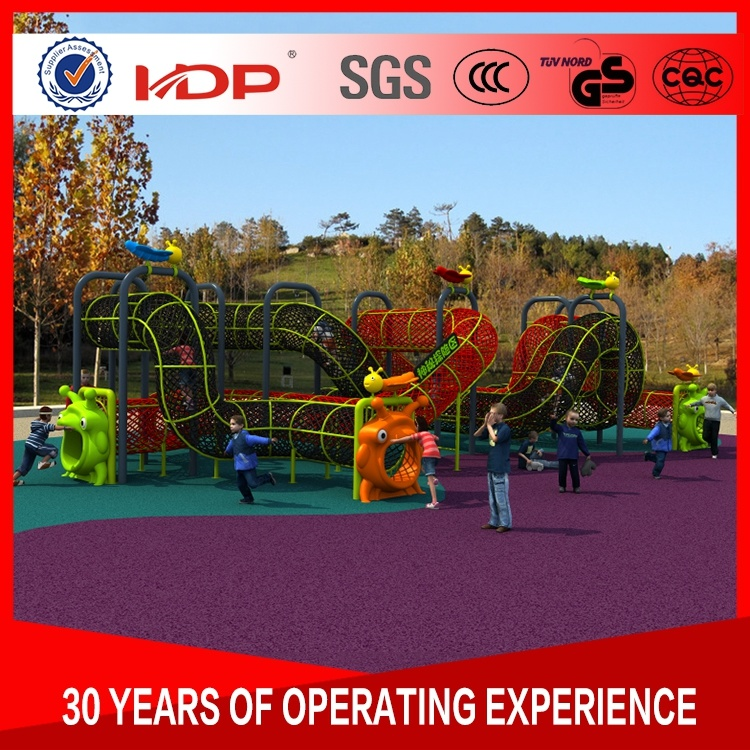 China Professional Preschool Playground Large Outdoor Equipment Slide Kindergarten Double