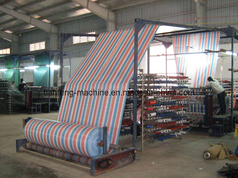 PE Tarpaulin Making Machine