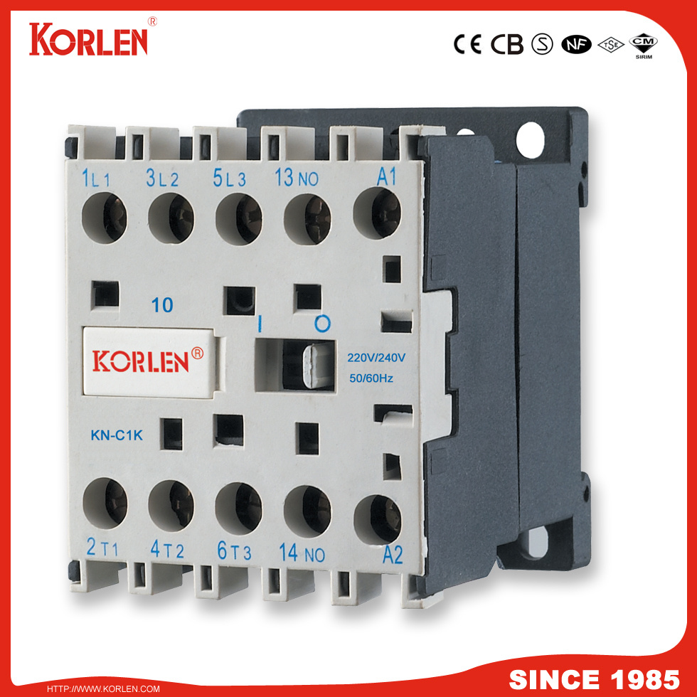 China Korlen Mini AC Magnetic Contactor Relay Contactor with