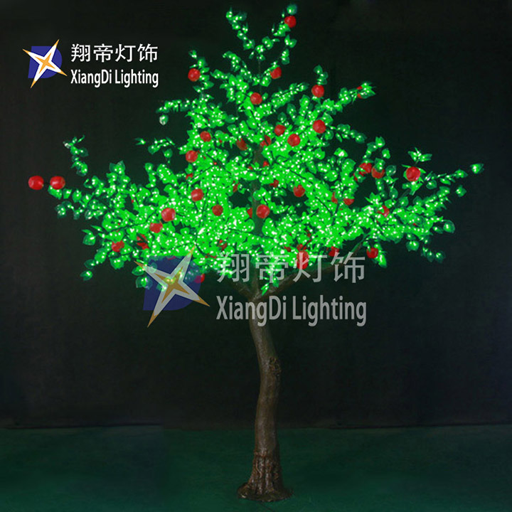 3.8m Professional Manufacturer RGB Adaptor 100L 10m LED String Outdoor with Lighted LED Trees for Christmas Decoration