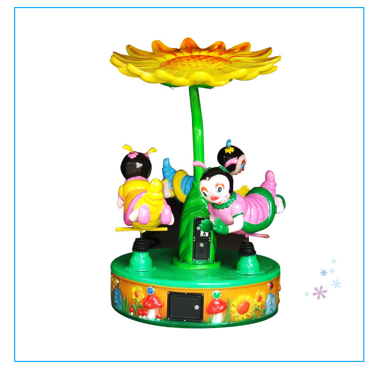 Kids Electric Merry Go Round Kids Amusement Park Mini Small Carousel for Sale pictures & photos