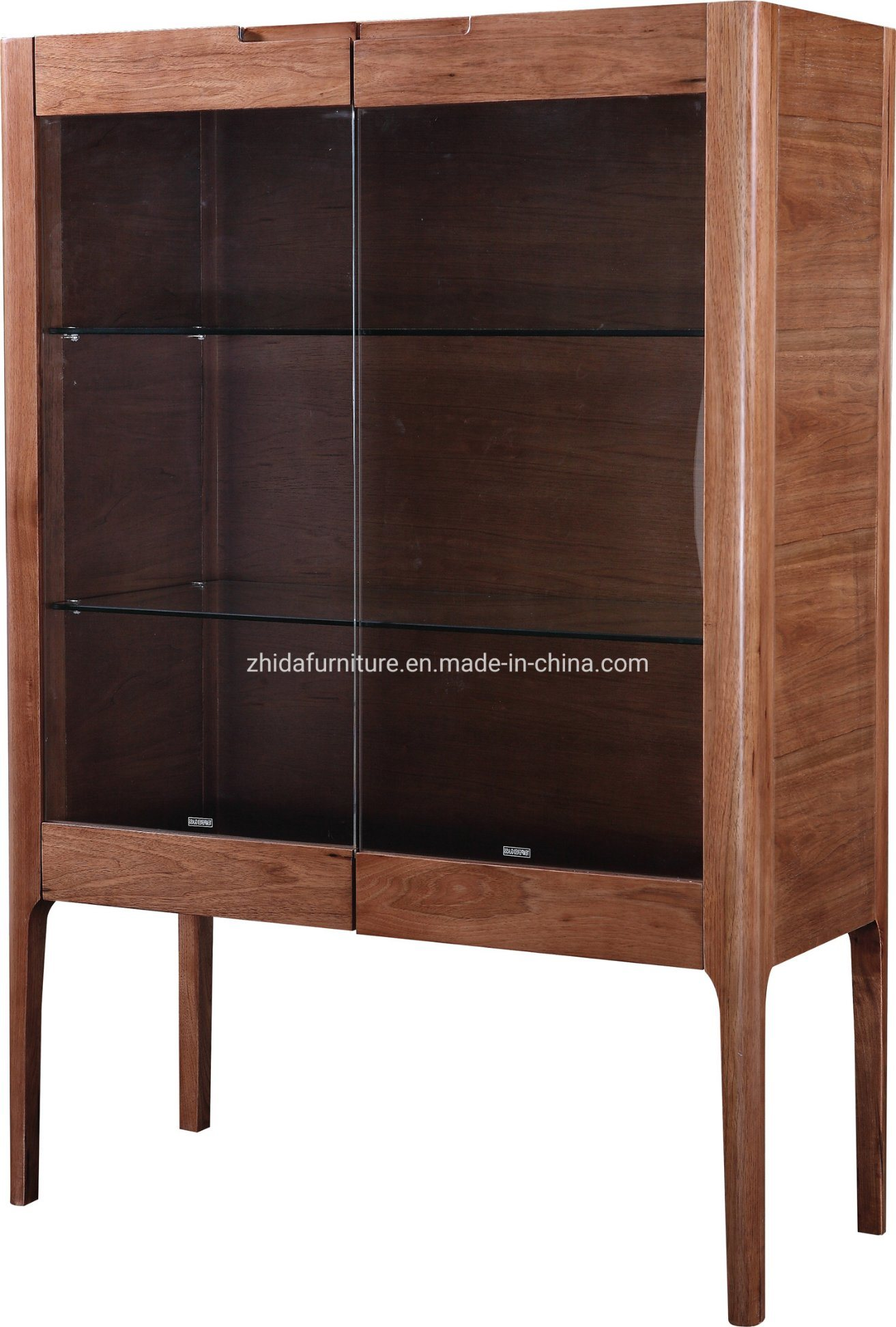 China Modern Living Room Cabinet Glass Cabinet Wooden Cabinet China Home Furniture Wooden Cabinet
