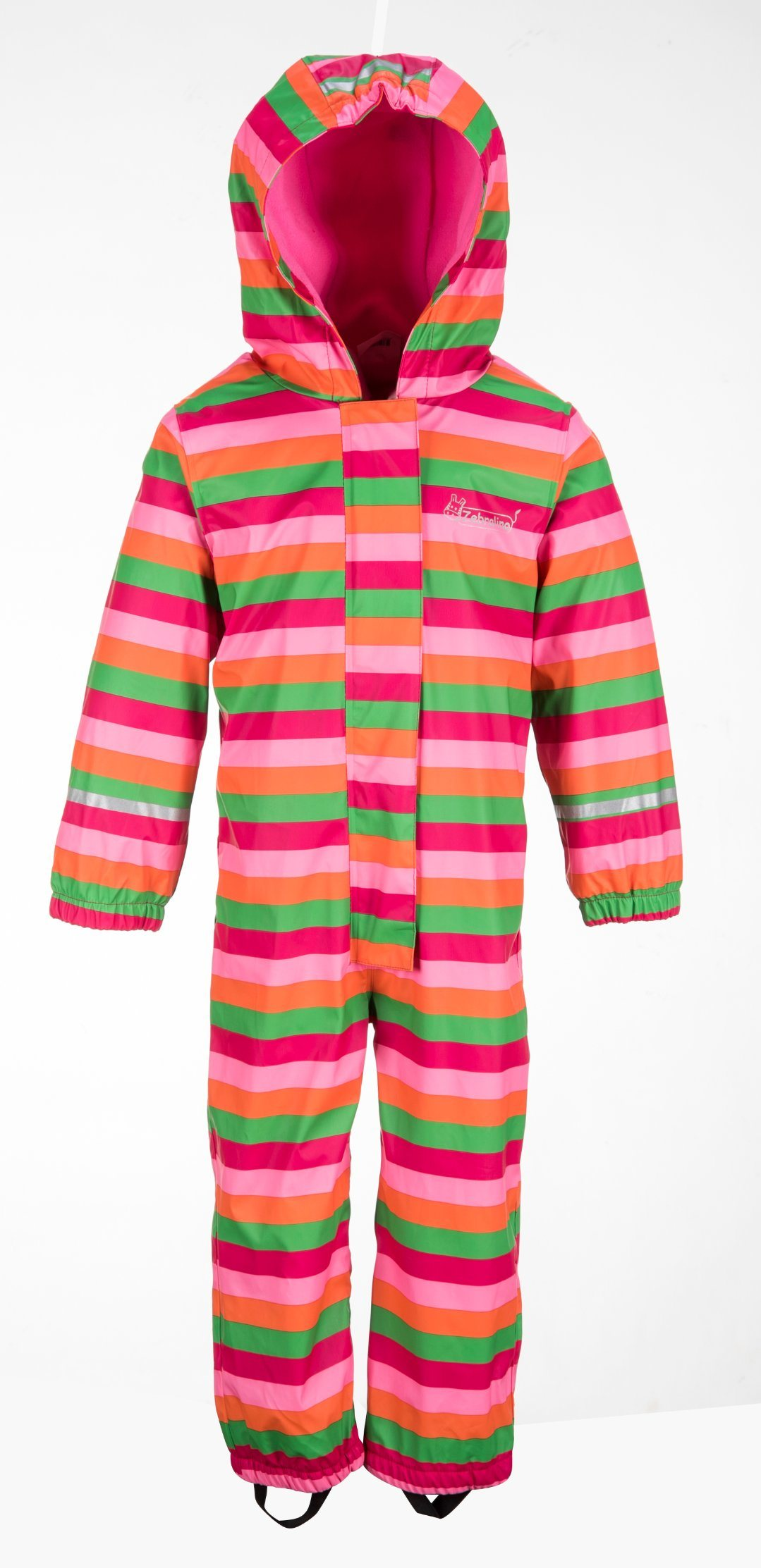 arriving shop for authentic how to get [Hot Item] 2018 Low Price PU Waterproof Kid Rainbow Overall Rainwear