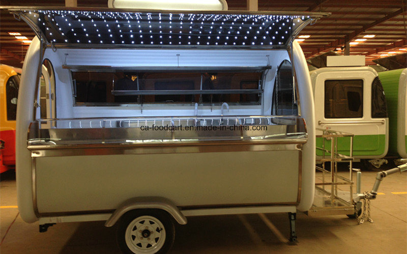 China Mobile Food Wagon with LED Lights pictures & photos