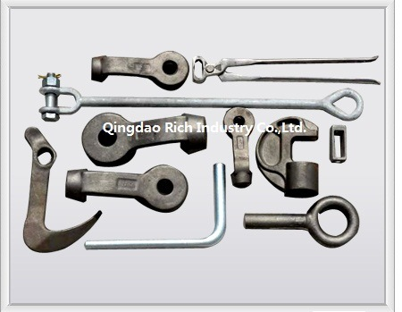 Auto Forging Part Forging Aluminum Part/Aluminium Forging/Automobile Part/Hot Forged Aluminum Connecting Rod