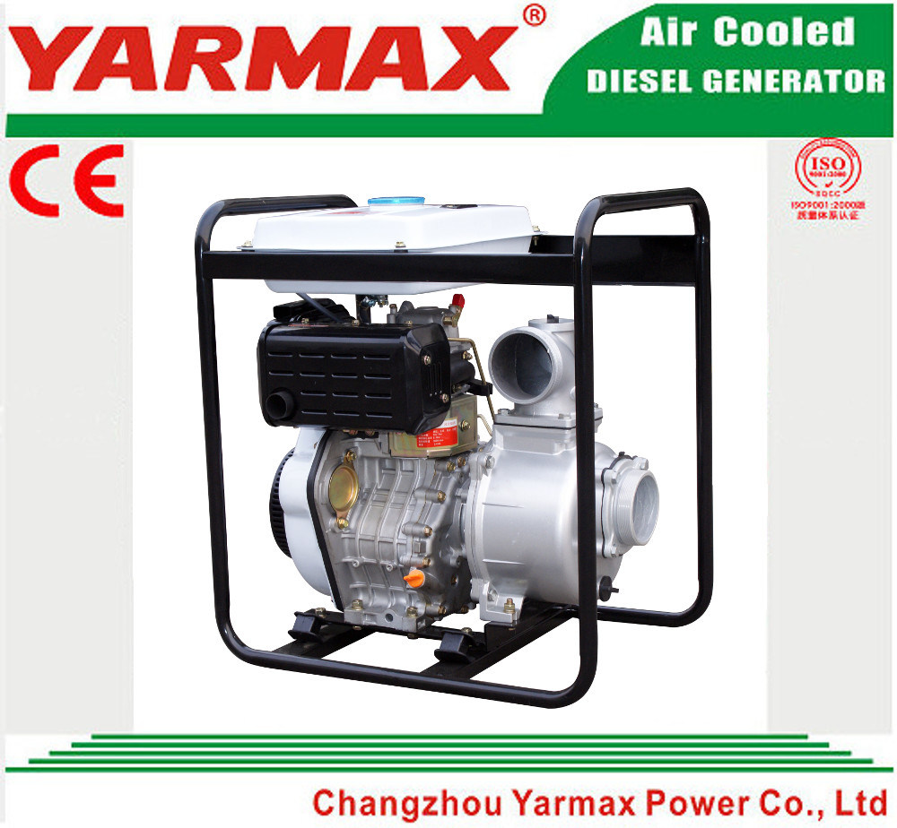 "Yarmax Air Cooled Agricultural Irrigation 2 Inch 2"" Portable Diesel Water Pump Ymdp20 pictures & photos"