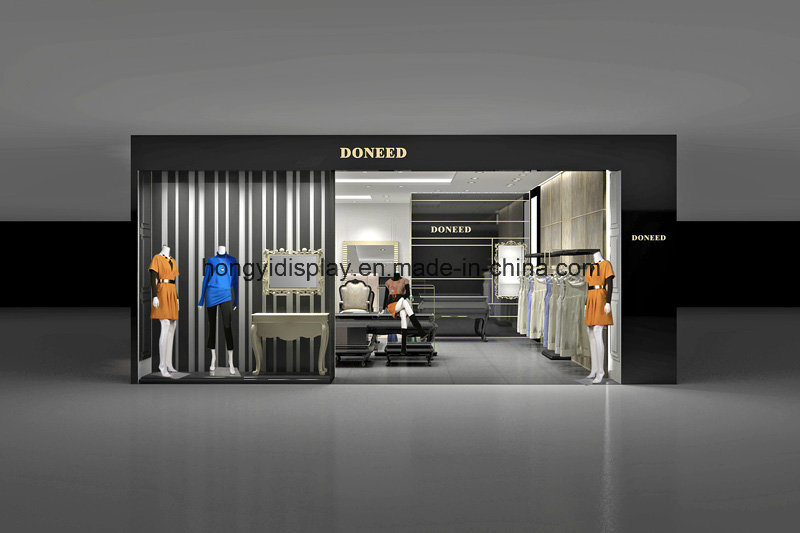 China Fashion Women Clothes Shop Design Clothing Shop Decoration China Store Display And Retail Display Price