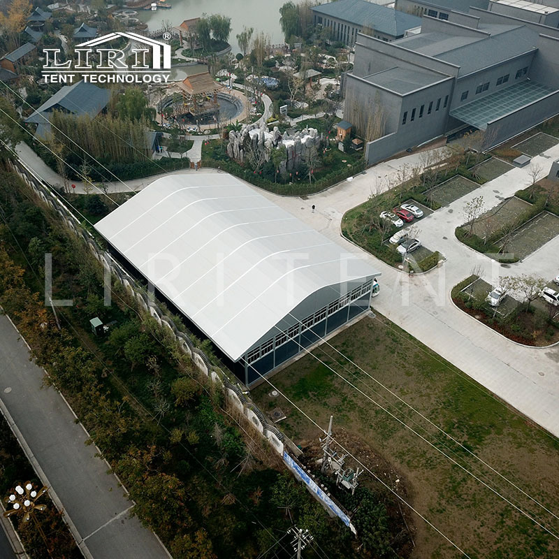 25mx80m Permanently Arcum Rent Tent Theatrical Commercial Arch Dome Event Tent pictures & photos