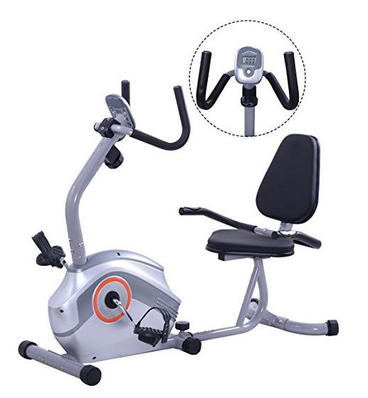 [Hot Item] Hot Selling Magnetic Exercise Bicycle Recumbent Bike