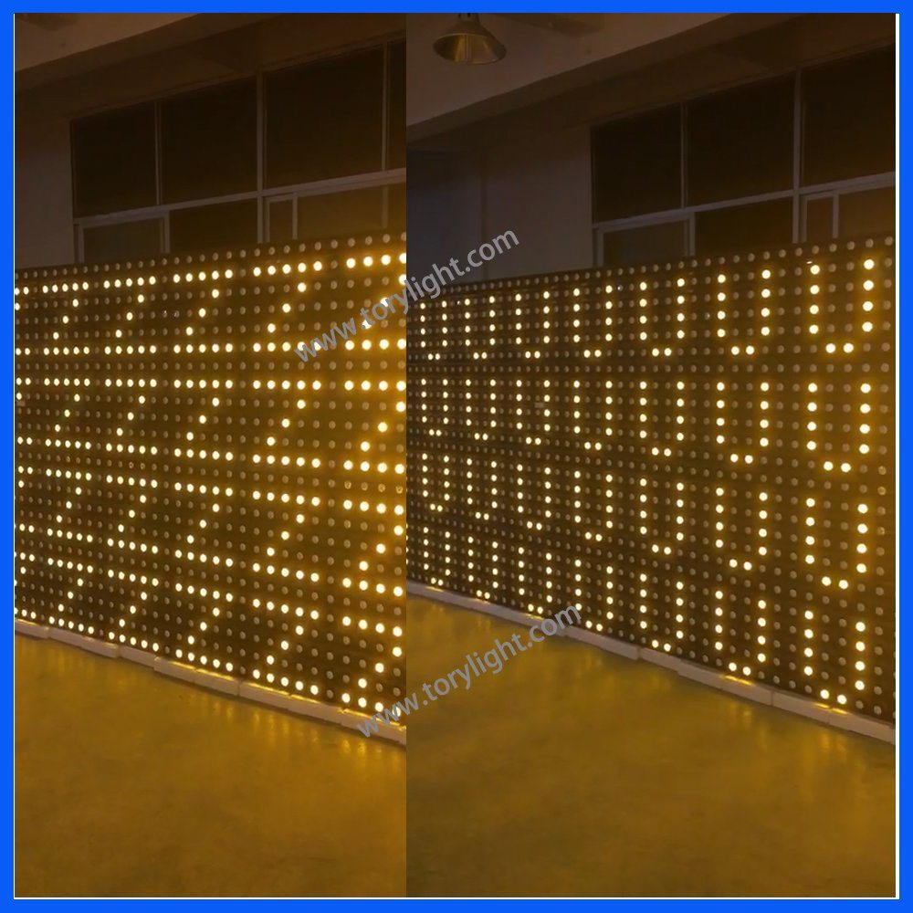 Stage Pixel Gold Array 36*3W Beam Matrix Party Disco Light
