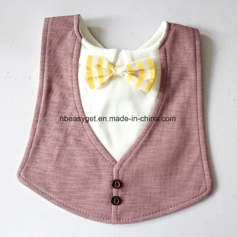 bbe176d1f732 Aby Toddler Infant Boys Girls Drool Drooling Bibs Bowtie Tuxedo Bow Neck  Tie Burp Cloths Unisex Pack Esg10151 Baby Bib