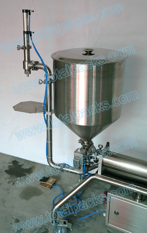 Semi-Automatic Bottle Filling Machine for Chili Sauce/Bean Sauce/Peanut Butter (PGF-150S) pictures & photos
