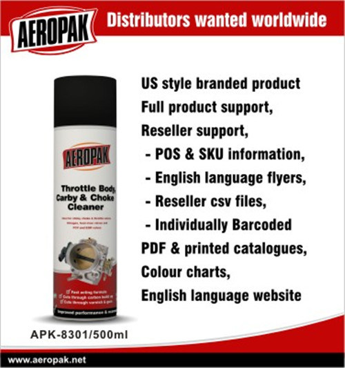 China Aeropak Throttle Body & Intake Cleaner - China