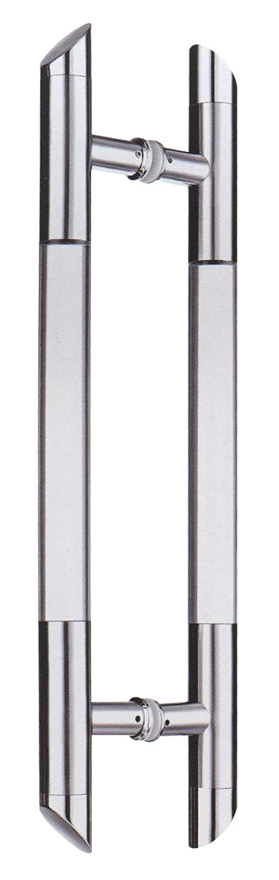 China Fatory Price Double Side Stainless Steel Glass Door Handle