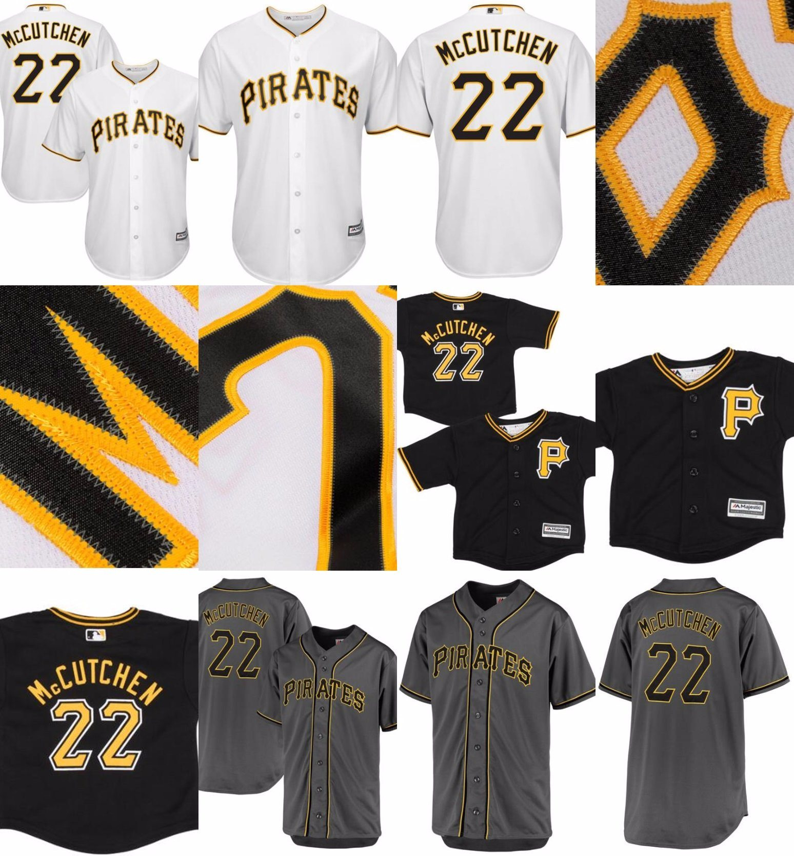 new concept c1f83 4db5e [Hot Item] Pittsburgh Pirates 22 Andrew Mccutchen Cool Base Baseball Jerseys