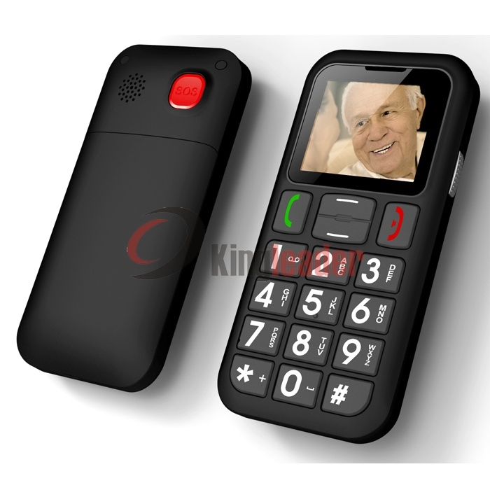 1.77inch WCDMA 3G Senior Mobile Phone with Ce (W60c)