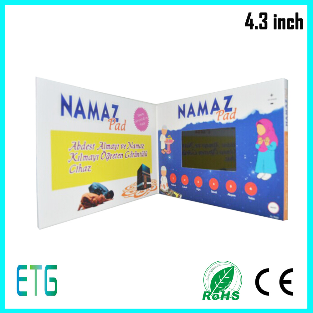 China Lcd Video Greeting Card And Video Player Mailable Greeting