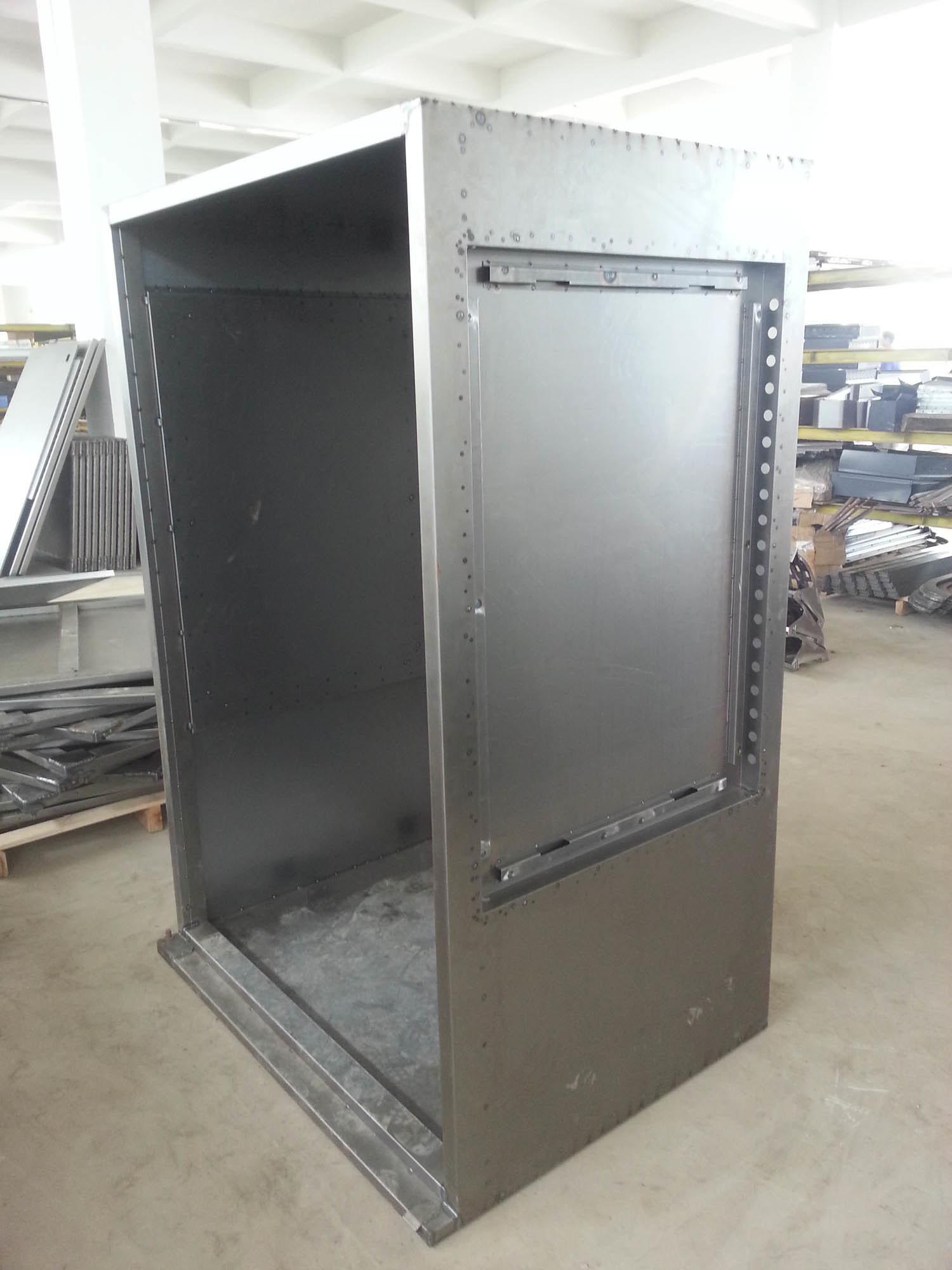 China Metal Cabinet Fabrication Sheet