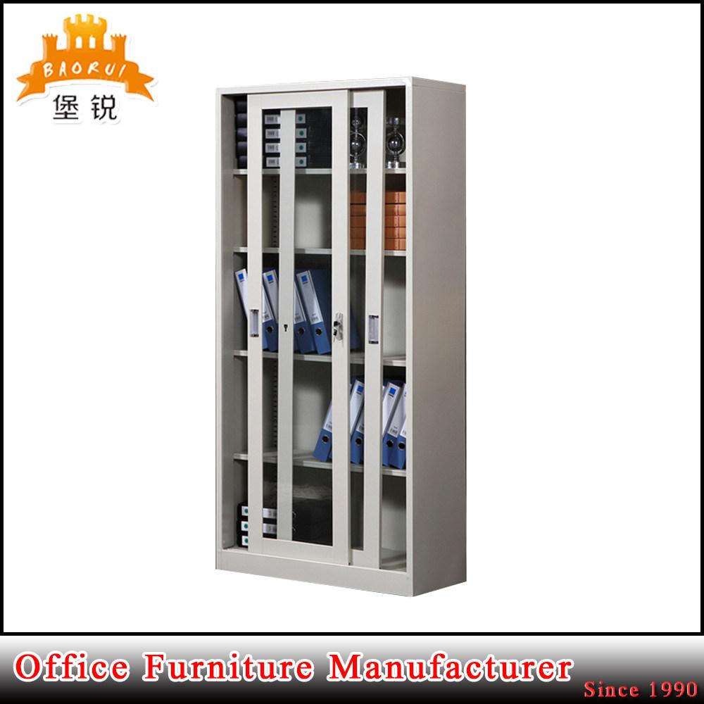 China Sliding Glass Door Metal Frame School Laboratory Storage