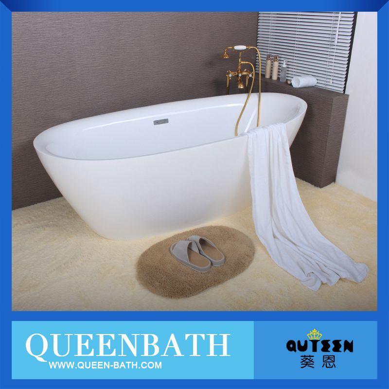 China Freestanding Ellipse Standard Acrylic Bathtub Size, Bathtub ...