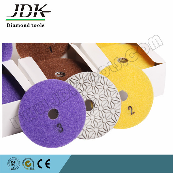 3 Step Diamond Wet Polishing Pad for Granite pictures & photos