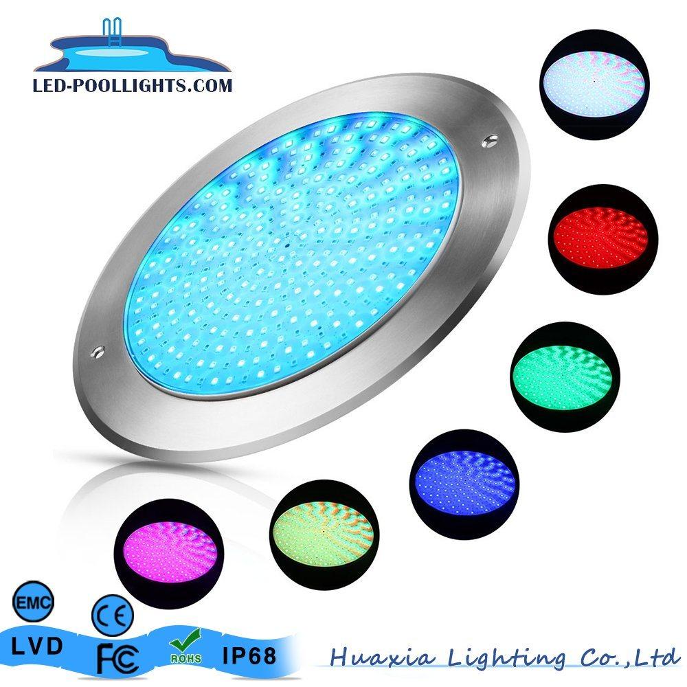 [Hot Item] 18W DC12V External Control RGB Ultra Thin (8mm) IP68 Underwater  LED Swimming Pool Lighting