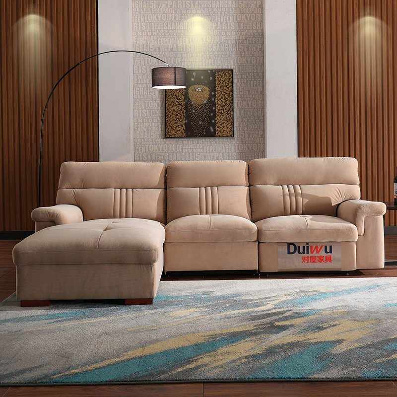 Furniture Living Room Leather Sofa Bed