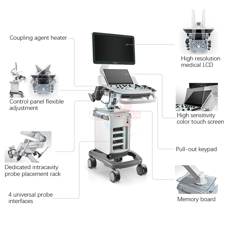 China Wonderful Ecografo Mindray DC-40 Mindray Color Doppler Ultrasound Machine Mindray DC 40 Price Photos & Pictures - Made-in-china.com