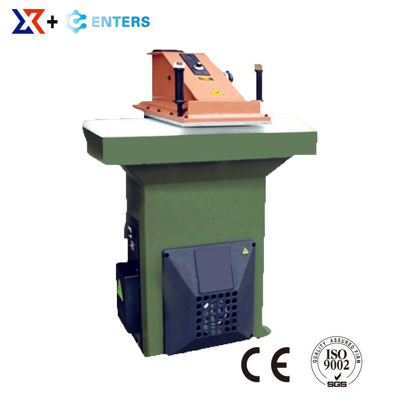 [Hot Item] Factory Sale Swing Arm Cutting Machine/Die Cutting Press/Shoe  Making Machine