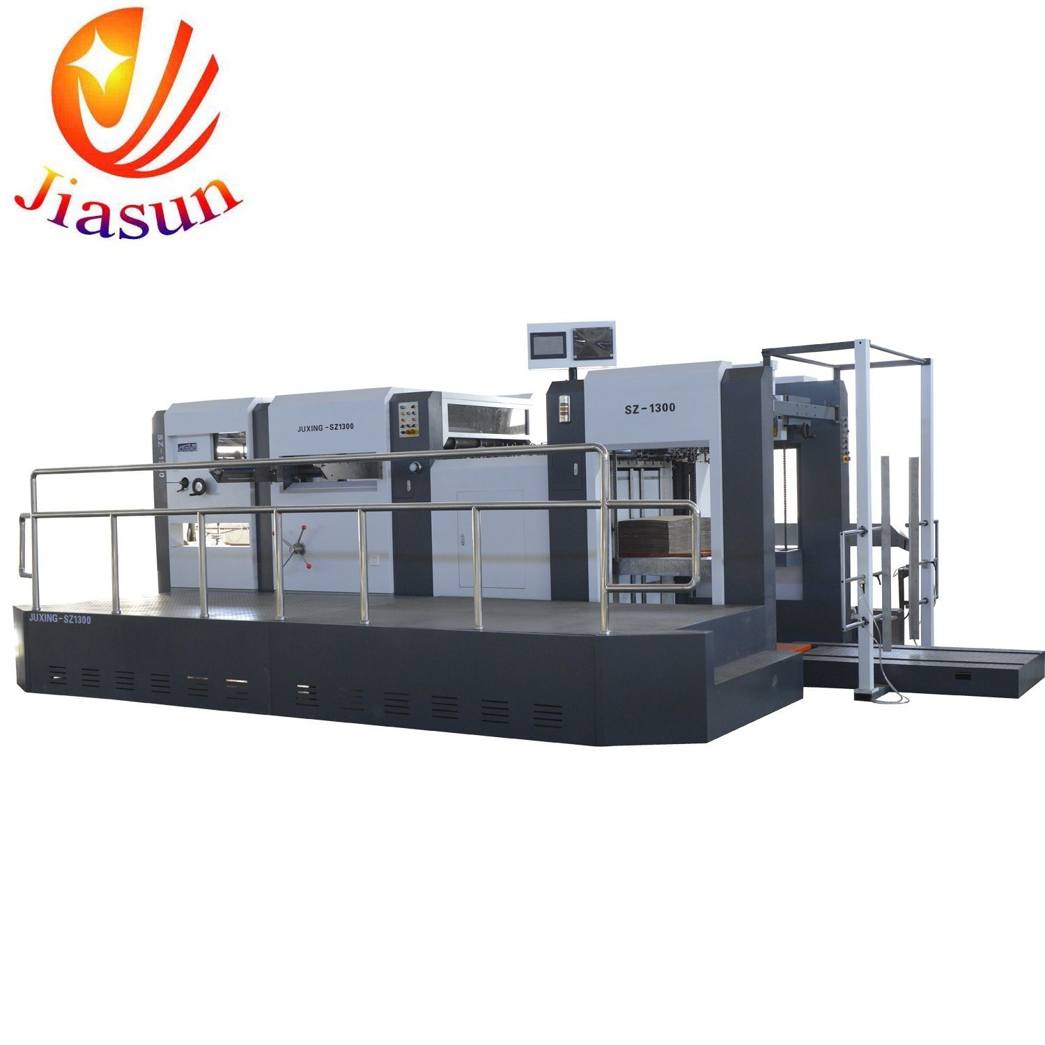 China Bobst Type Die Cutting And Creasing Machine