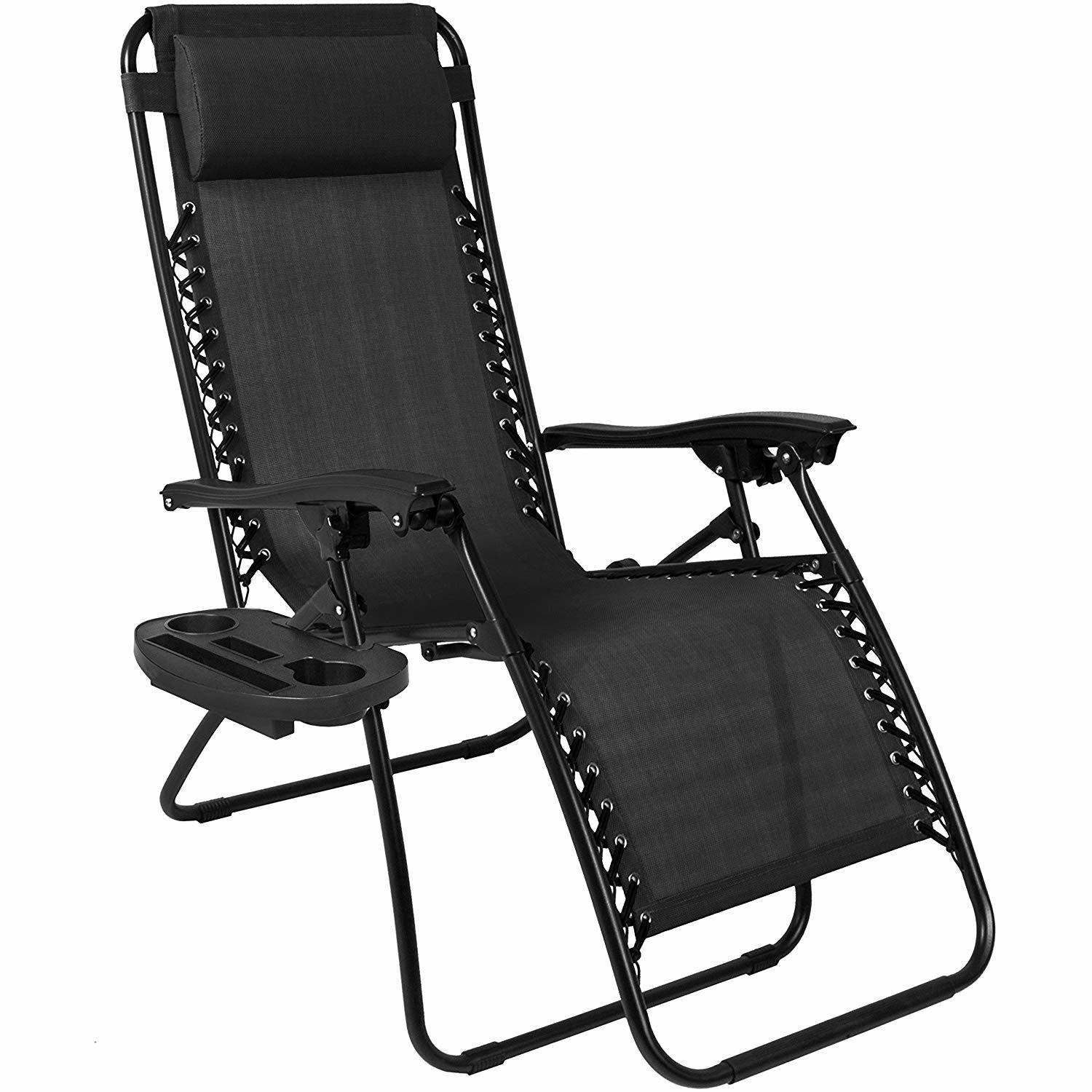 Hot Item Bonnlo Infinity Zero Gravity Chair Outdoor Lounge Patio Chairs With Pillow And Utility Tray Adjustable Folding Recliner For Deck Patio