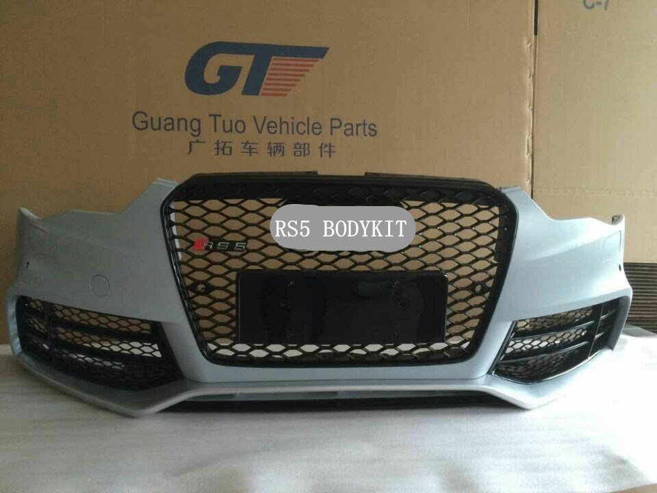 [Hot Item] Aftermarket RS5 Bodykit for 2012-2014 Audi A5 RS5 Front Bumper