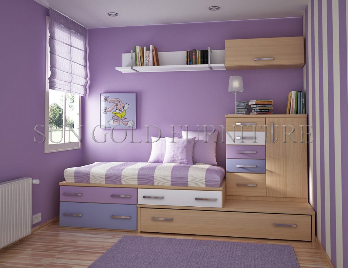 China Contemporary Smart Kid Bedroom Furniture With Children
