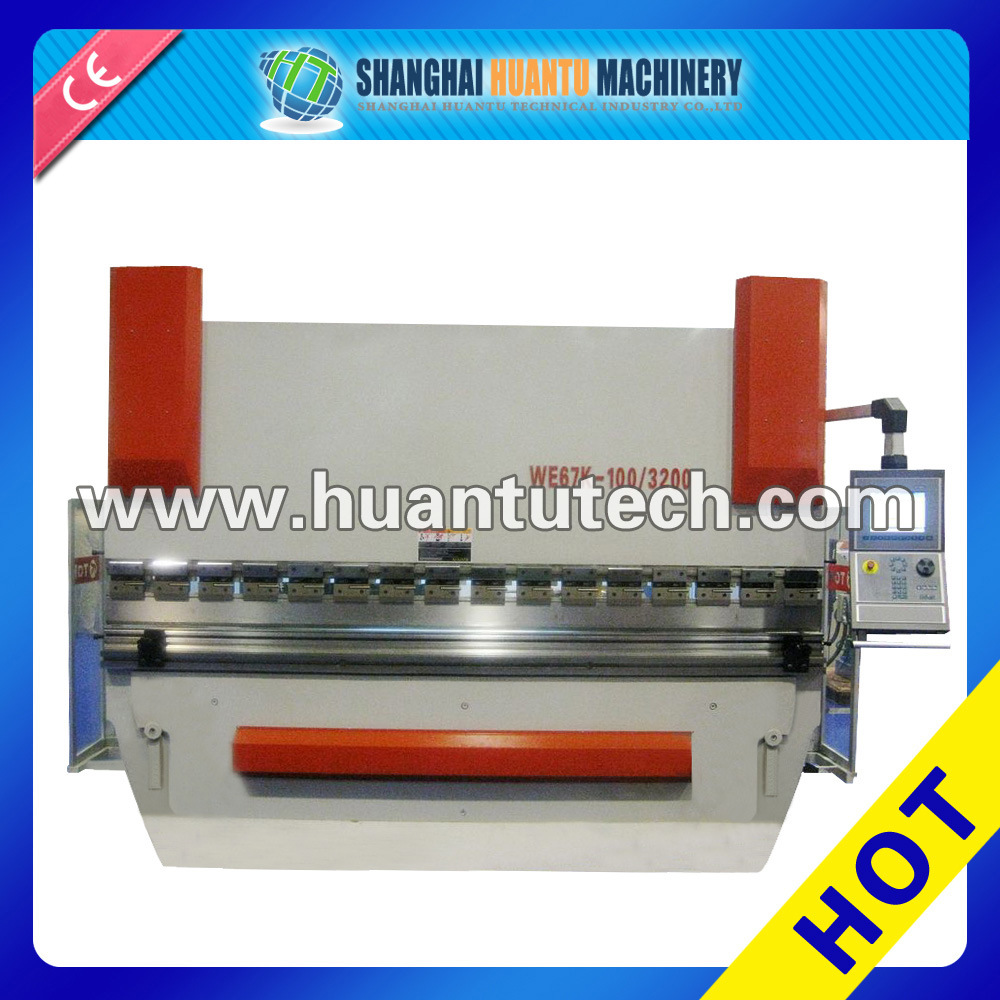Automatic Fast CNC Programm Metal Plate Bending Tool, Hand Folding Machine, Section Bending Machine (WE67K Series)