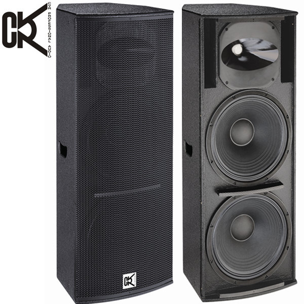 [Hot Item] 15-Inch Bass Speakers Dual Subwoofer Box