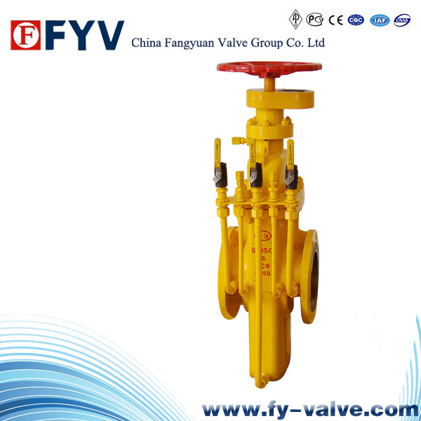 API 6D Gas Flat Gate Valve for Petroleum Natural Gas pictures & photos