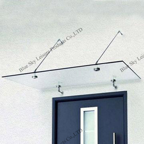 [Hot Item] Glass Roof Stainless Steel Door Canopy (B900)