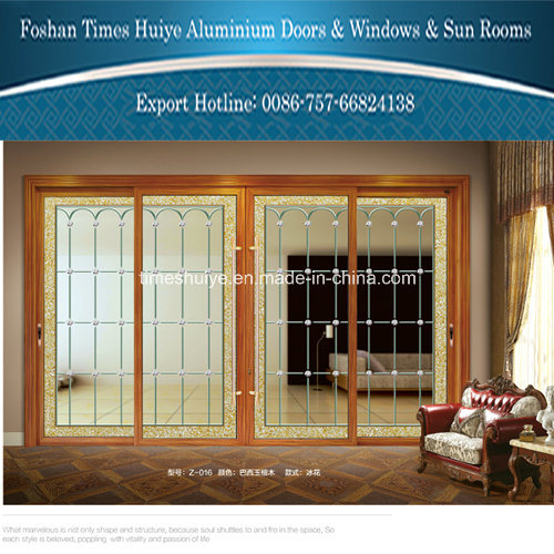 China Aluminum Interior Glass Door pictures & photos