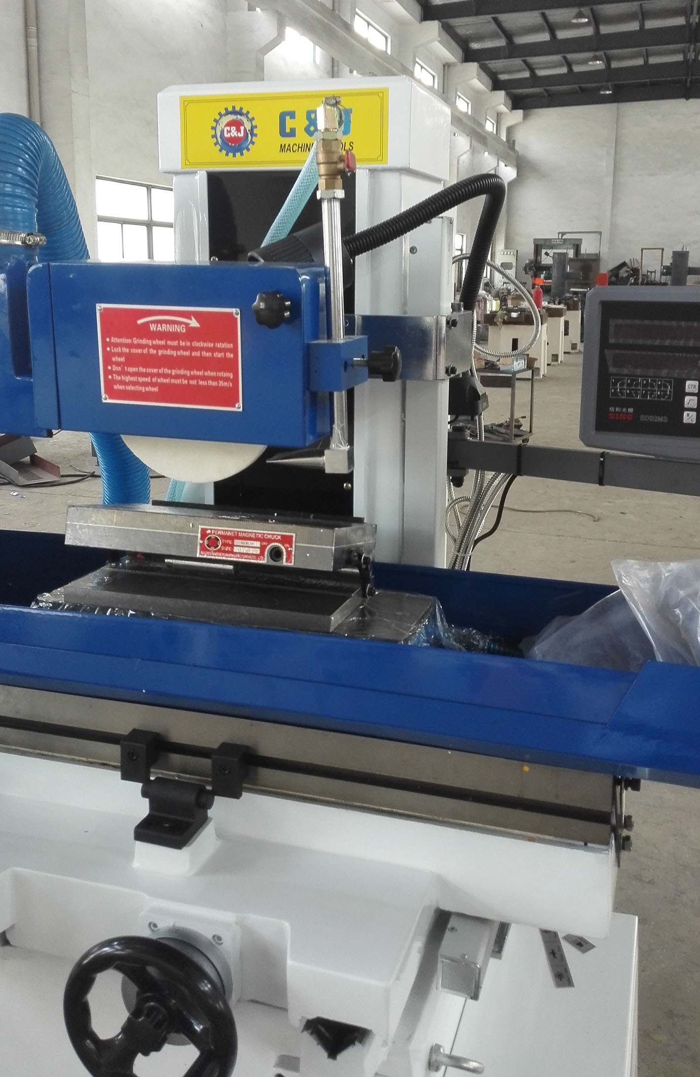 Hand Feed (Manual) Surface Grinder Machine (M618A, M820, M250)
