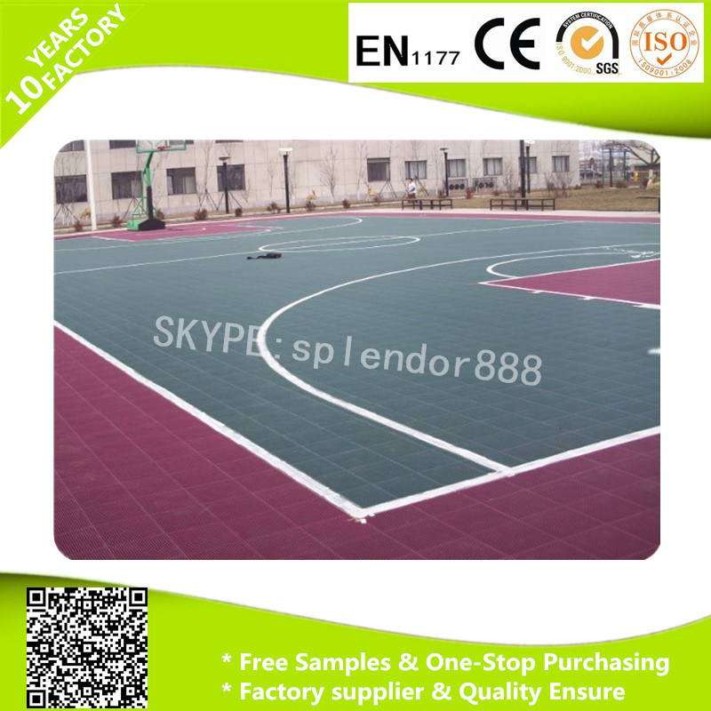 Outdoor Interlocking Plastic PP Table Tennis Sport Court Floor Tiles pictures & photos