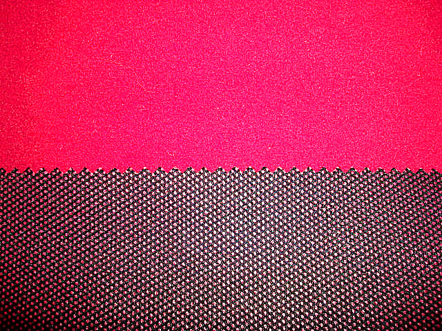 Tricot Fleece Bonded Tricot Mesh Fabric pictures & photos