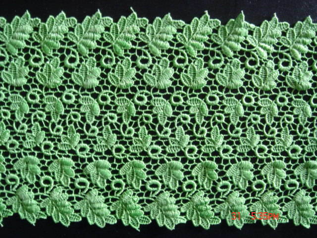 Hydrosoluble Lace Fabric for Home Textile and Fashion pictures & photos