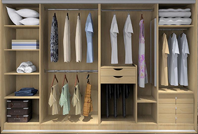 China Modular Wardrobe for Modern Design Bedroom Furniture ...