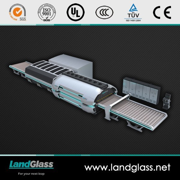 Landglass Electric Heating Glass Tempering Furnace for Sale pictures & photos